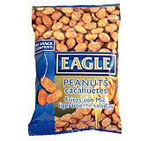 Cacahuetes fritos con miel Eagle bolsa