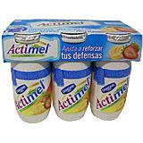 Actimel líquid Danone maduixa plàtan paq. 6 u. x 100 ml