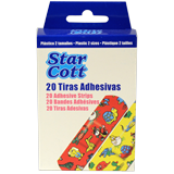Tires adhesives infantils Star Cott 2 mides
