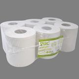 Rollo papel secamanos Gc 2 capas paq. 6 x 180 m