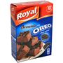Brownie con oreo Royal caja