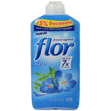 Suavitzant concentrat Flor blau 45 rentades