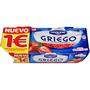 Iogurt grec Danone amb maduixes paq. 2 u.