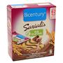 Barretes de cereal saciant Bicentury xoco llet sense gluten 6 u.