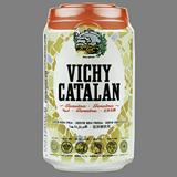 Agua con gas Vichy genuina lata