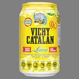 Agua con gas Vichy limón lata