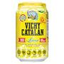Aigua amb gas Vichy llimona llauna