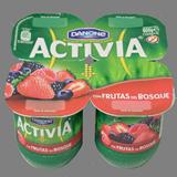 Iogurt activia Danone cremós fruites silvestres 4 u. x 125 g