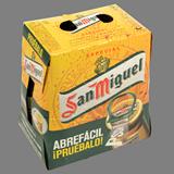 Cervesa especial San Miguel ampolla paq. 4 u. x 33 cl