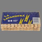 Pinzas madera La Lavandera