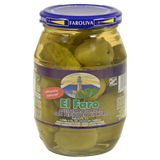 Aceitunas gordal con pepino El Faro frasco