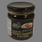 Salsa Pedro Ximénez con pasas Salsas Asturianas frasco