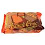 Galeta fans-xoc Asinez cobertura xocolata