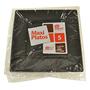 Plat plastic Maxi products cuadrat negre