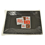 Safata plastic Maxi products rectangular negra