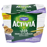 Iogurt espelta Danone llavor rosella paq. 4 u. X 120 g