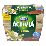 Iogurt activia fibra Danone 0 % muesli paq. 4 u. X 120 g.