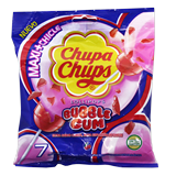 Caramels Chupa Chups bubble gum 7 u.