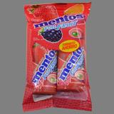 Xiclets masticables Mentos fruit twinpac 2 x 30 g