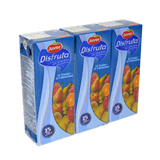 Nèctar disfruta Juver sense sucre 10 fruites + 10 vitamines paq.3 x 200ml
