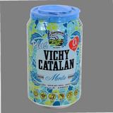 Agua con gas Vichy menta