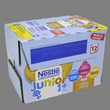 Leche continuacion Nestle continuacion 1+ sabor galleta paq. 6 u. X 200 ml.