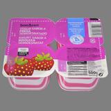 Iogurt semidesnatat sabor maduixa 4 u. de 125 g
