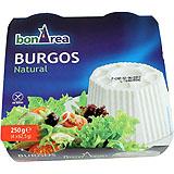 Formatge fresc burgos 4 u. de 62,5 g