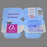 Yogur desnatado 4 u. de 125 g