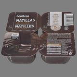 Natilles de xocolata paq. 4 u. x 125 g.
