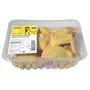 Pollastre groc trossejat