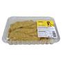Pit de pollastre groc filetejat arrebossat