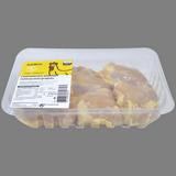 Contramuslos de pollo amarillo