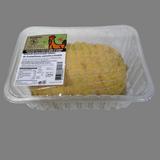 Rodó pollastre pagès sense os farcit de bolets, prunes i cansalada