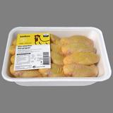 Ales de pollastre groc