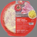 Pizza de pernil i formatge