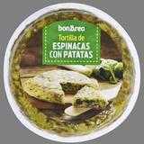 Tortilla fresca de espinacas