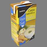 Brou natural de pollastre baix en sal