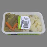 Mongetes verdes amb patates i pastanaga