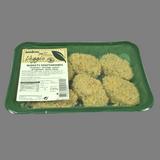 Nuggets vegetarianos de espinacas, queso y pasas 8 u