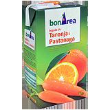 Beguda de taronja i pastanaga