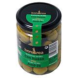 Aceitunas verdes con hueso frasco