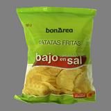 Patates fregides baixes en sal amb oli vegetal
