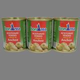 Aceitunas rellenas de anchoas clásicas paq. 3