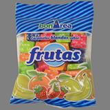 Caramels tous sabor fruites