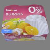 Formatge fresc burgos 0% matèria greix paq. 4 u.