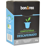 Café en cápsulas compostables descafeinado