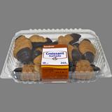 Croissant banyat amb xocolata 10 u.