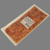Snack pizza de jamón cocido