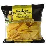 Patates fregides ondulades amb oli d'oliva